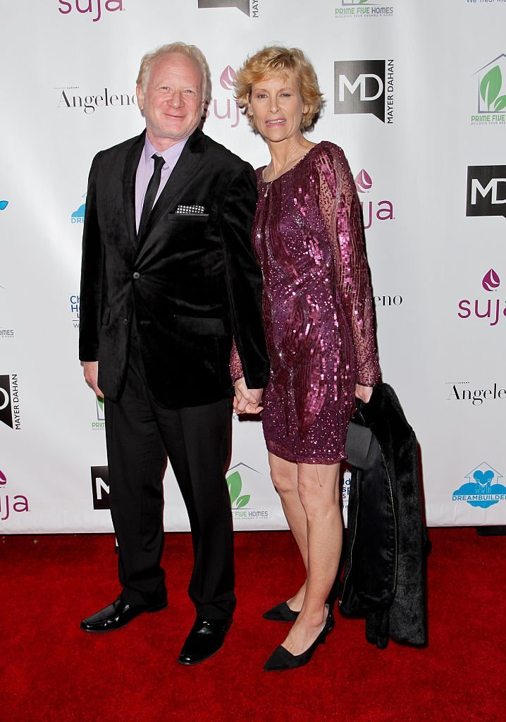 Don Most and wife Morgan attend the 3rd Annual A Brighter Future For Children Charity Gala in Hollywood, California on March 3, 2016   Photo: Getty Images