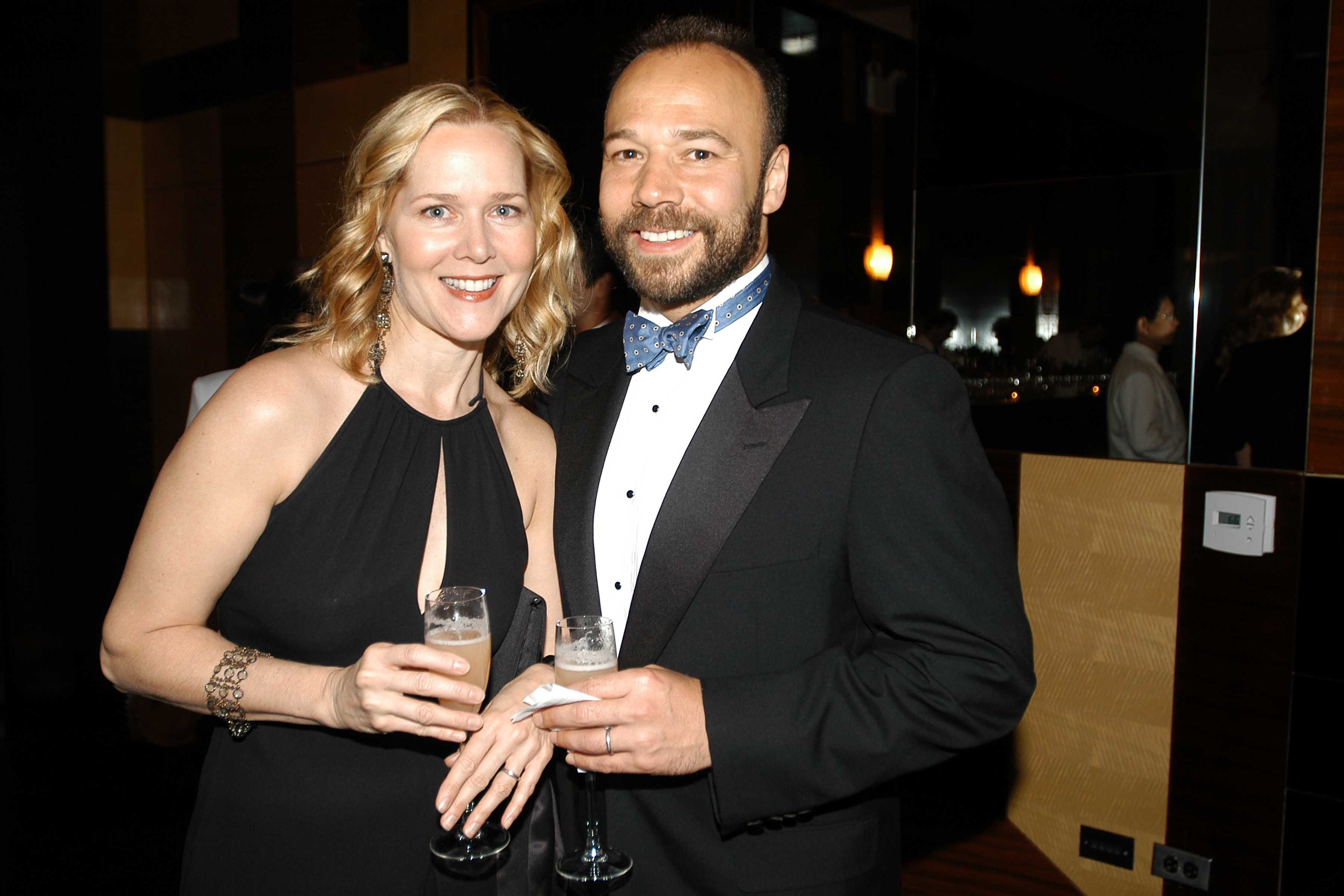 Rebecca Luker and Danny Burstein attend Miller Theatre at Columbia University Spring Gala at Cipriani Toy on May 10, 2005 in New York City.  Source: Getty Images