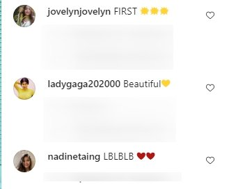 Fans' comments under a post made by Kylie Jenner on her Instagram page. | Photo: Instagram/@kyliejenner