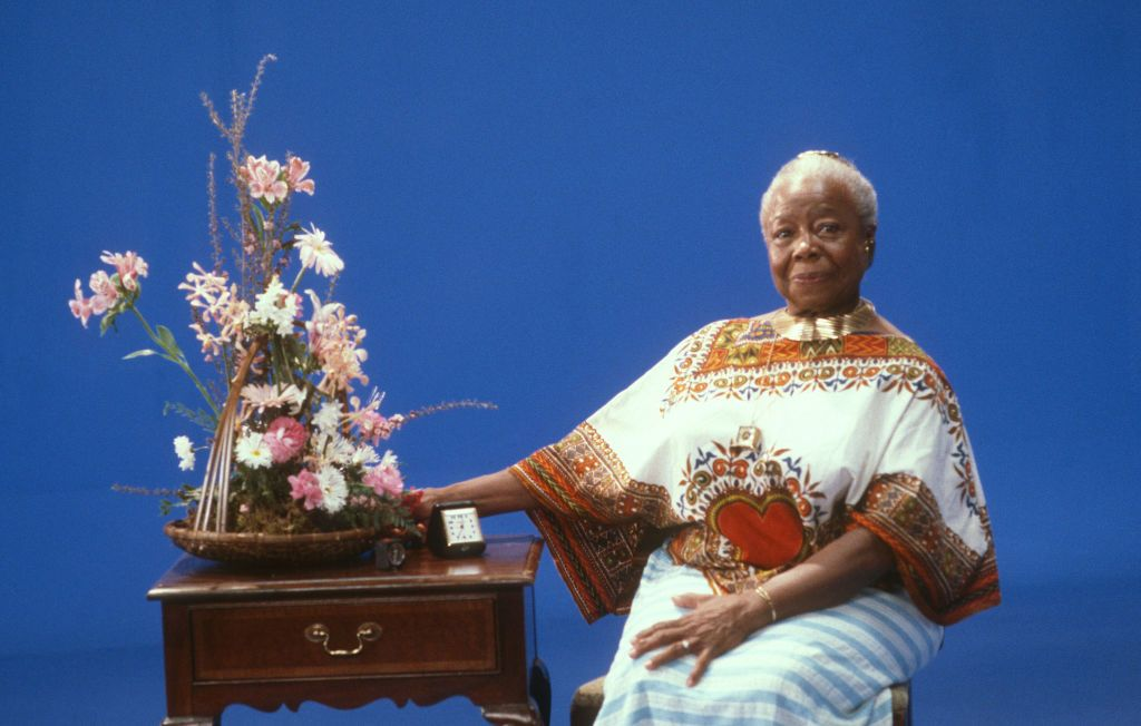 Butterfly McQueen photographed in a studio in Los Angeles, California on December 11, 1987   Source: Getty Images
