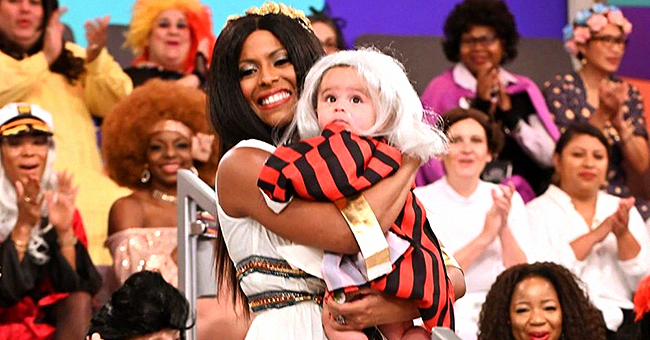Tamron Hall's Son Moses Stole Hearts in White Wig & Moses Costume for Halloween in a Precious Photo