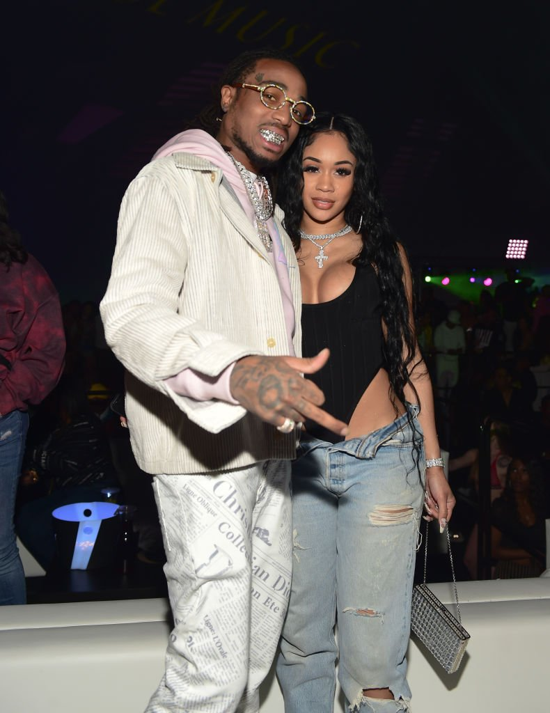 Quavo and Saweetie attend the Million Dollar Bowl in February 2020| Photo: Getty Images