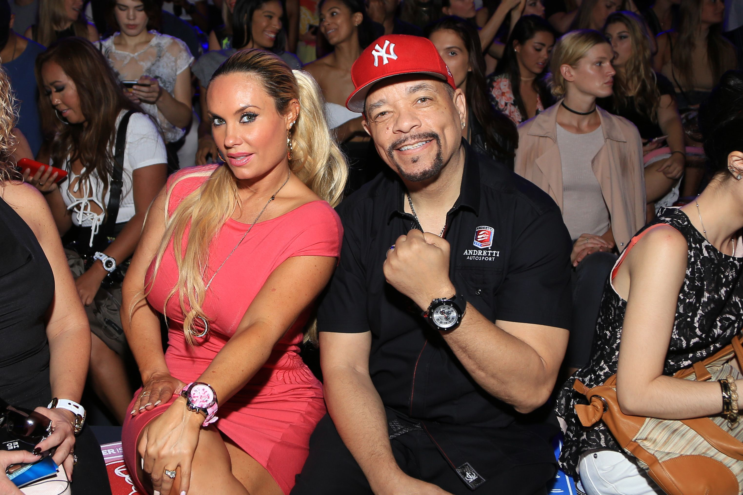 Coco Austin and Ice-T at the KYBOE! fashion show during New York Fashion Week: The Shows at The Arc, Skylight at Moynihan Station on September 10, 2016 | Photo: Getty Images
