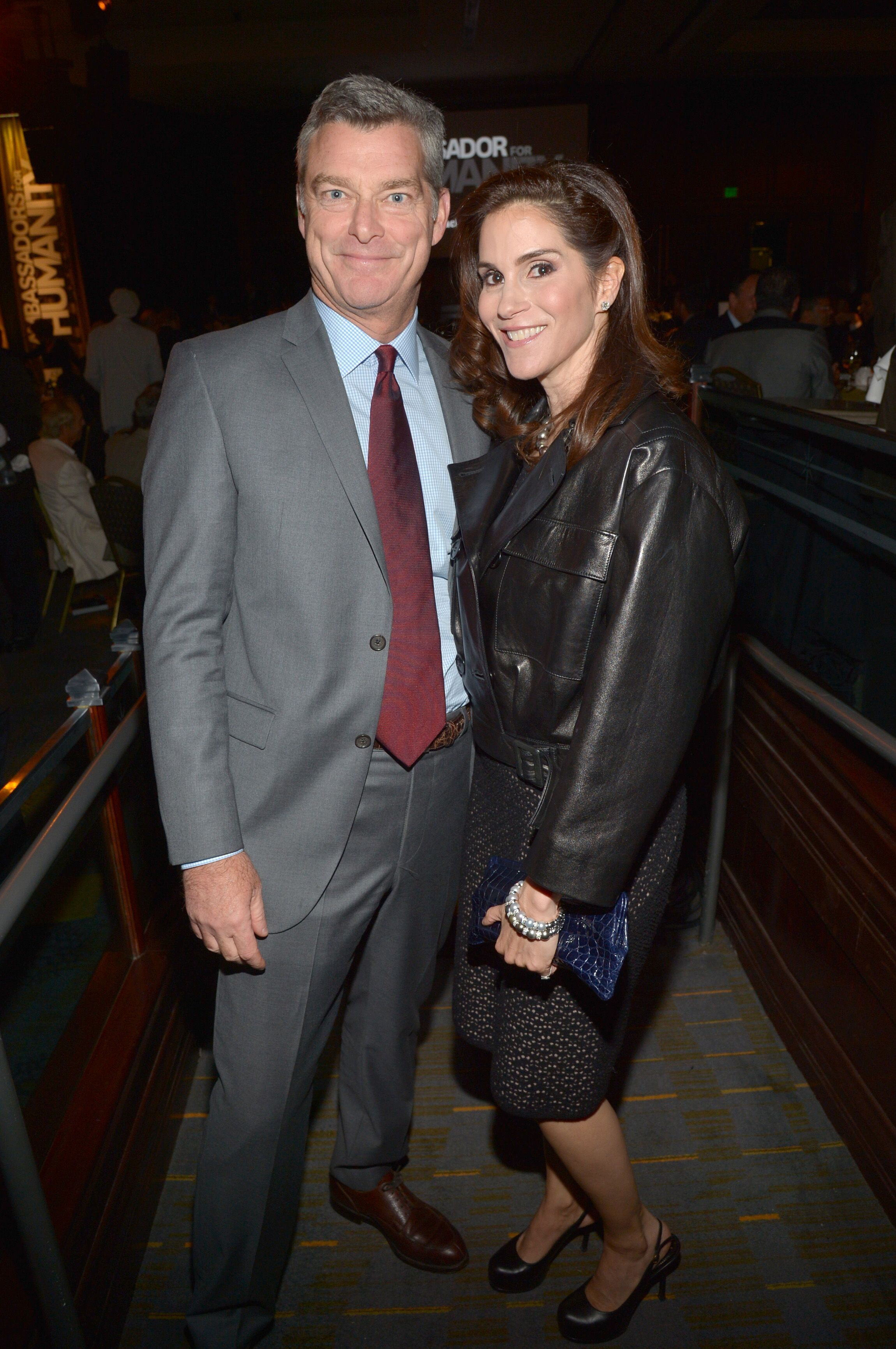 Antony Ressler and actress Jami Gertz attend USC Shoah Foundation's 20th Anniversary Gala on May 7, 2014. | Source: Getty Images