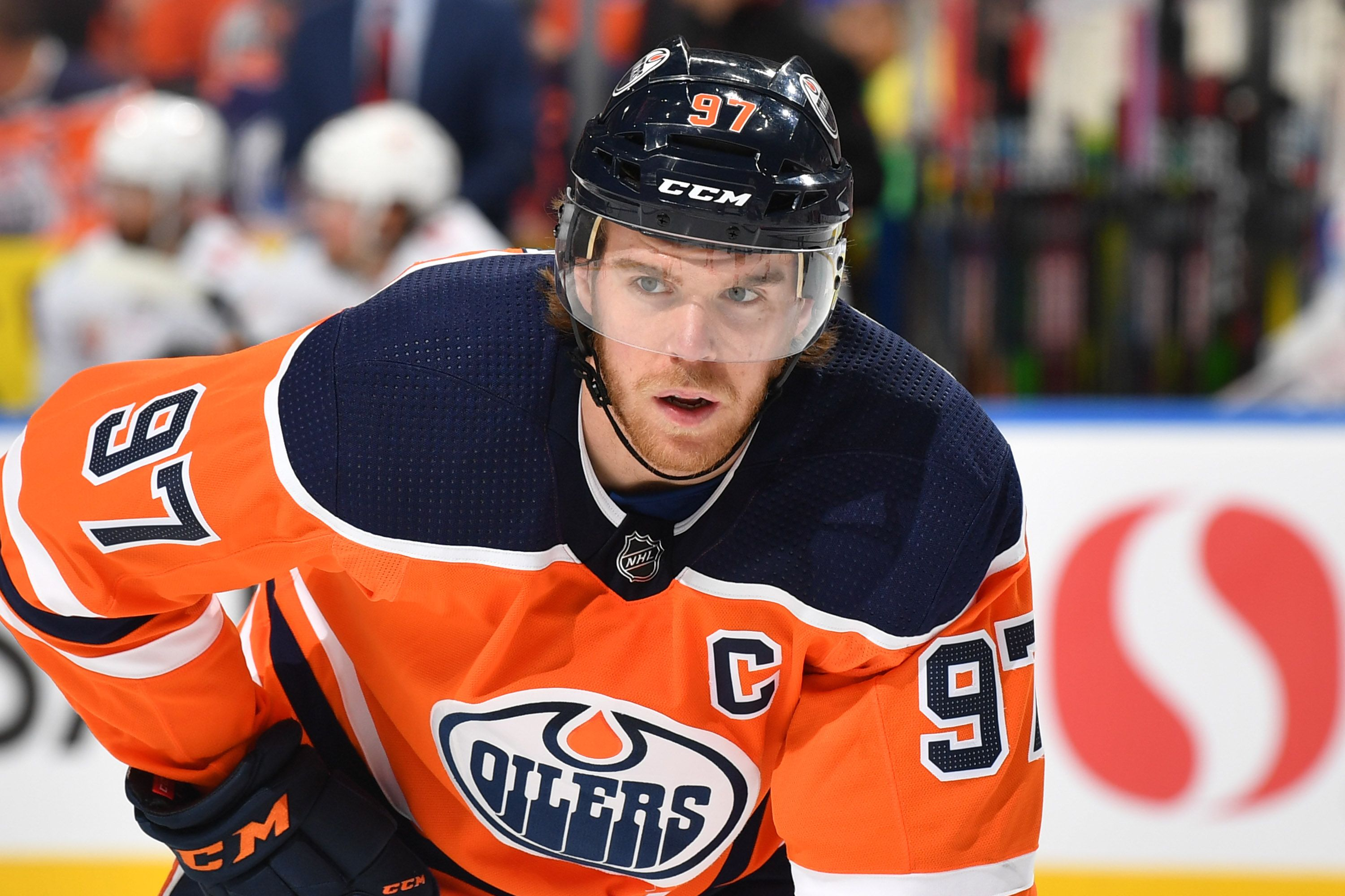 Connor McDavidof the Edmonton Oilers during a game against the Calgary Flames on January 29, 2020, at Rogers Place in Edmonton, Alberta, Canada | Photo:Andy Devlin/NHLI/Getty Images