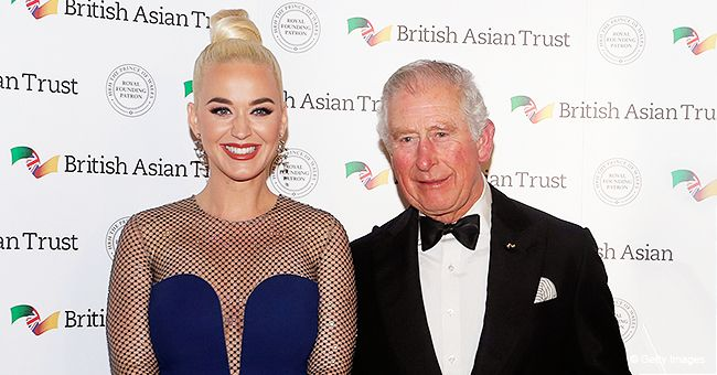 Katy Perry Attends British Asian Trust Royal Dinner with Prince Charles and Duchess Camilla