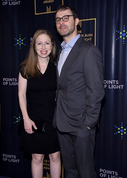 Chelsea Clinton and Marc Mezvinsky at the Intrepid Sea-Air-Space Museum on September 26, 2019 | Photo: Getty Images
