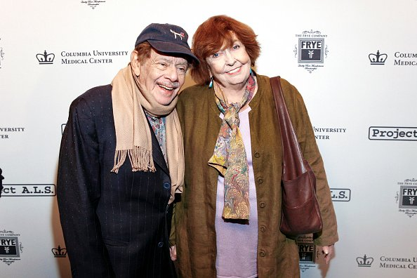 Jerry Stiller and Anne Meara at Lucky Strike Lanes & Lounge, New York, New York, October 27, 2011. | Photo: Getty Images