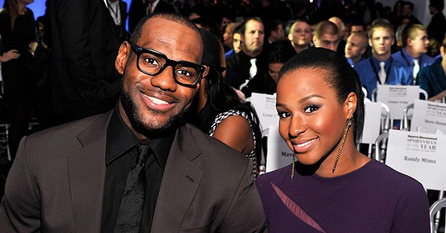 LeBron James and his wife Savannah Brinson. | Photo: Getty Images