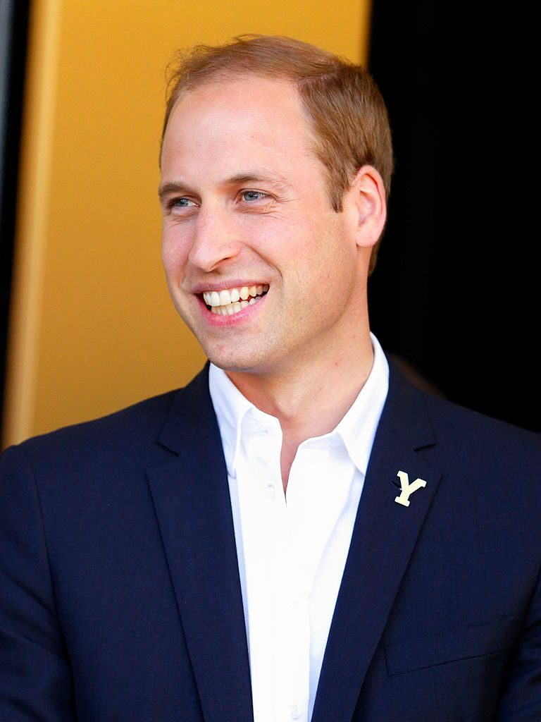 Prince William at the finish of stage one of the Tour de France in 2014 in Harrogate, England | Source: Getty Images