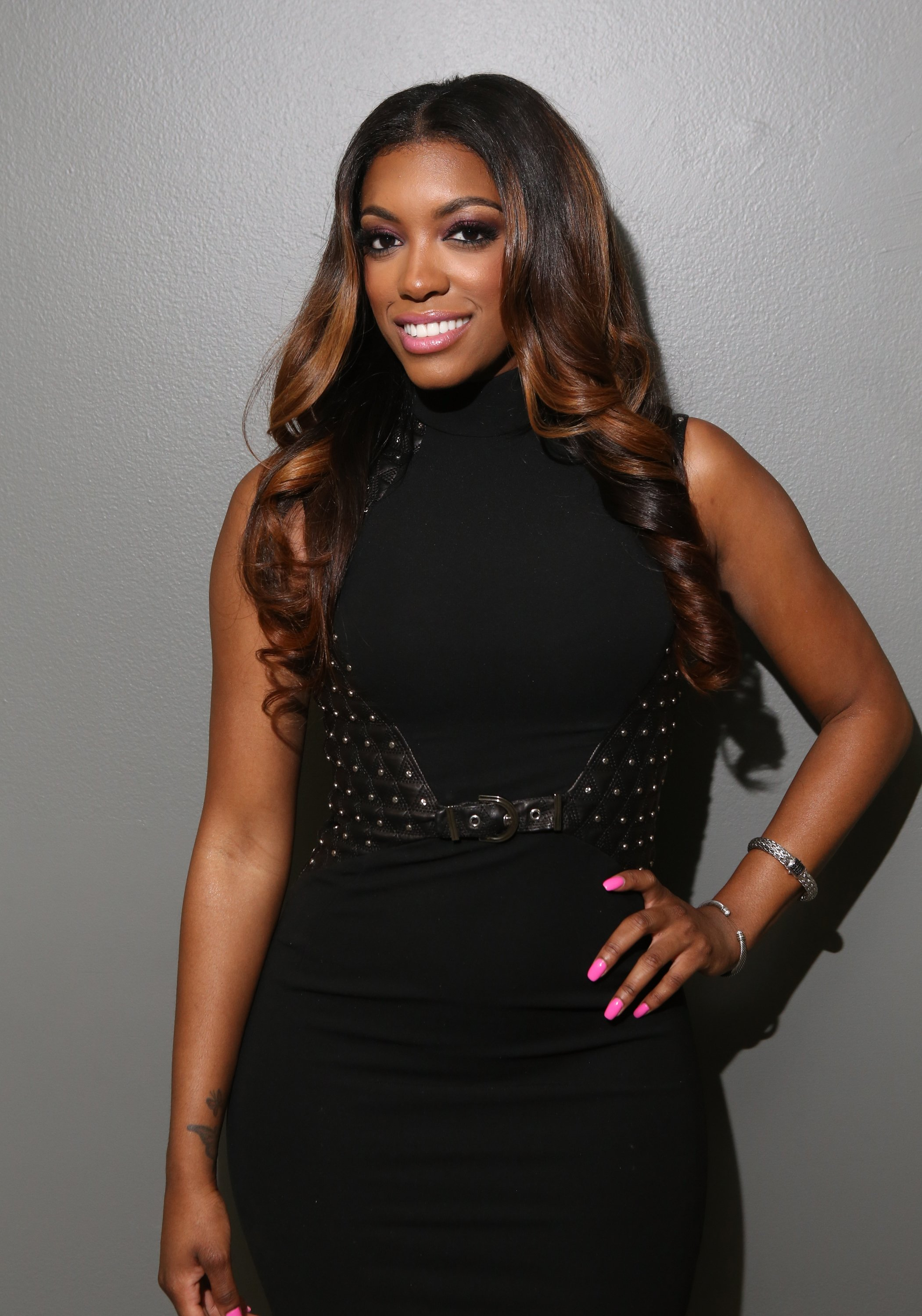 Porsha Williams visits 106 & Park at BET studio on June 9, 2014 in New York City | Photo: Getty Images