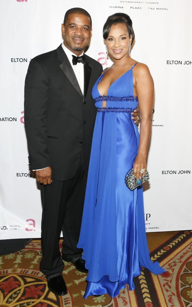 LisaRay McCoy with ex-husband Michael Misick/ Source: Getty Images