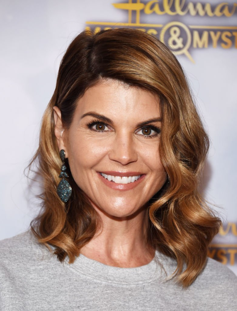 """Actress Lori Loughlin arrives at the Hallmark Channel """"Once Upon A Christmas Miracle"""" screening and holiday party at 189 by Dominique Ansel 