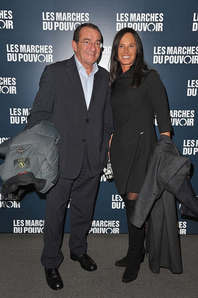 Nathalie Marquay et Jean-Pierre Pernaut. | Photo : Getty Images