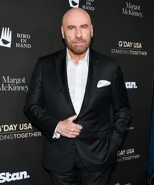 John Travolta attends G'Day USA 2020 at Beverly Wilshire, A Four Seasons Hotel on January 25, 2020.   Photo: Getty Images
