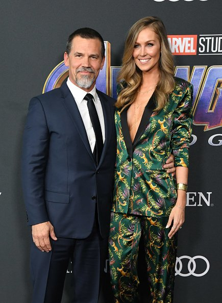 Josh Brolin and Kathryn Boyd at Los Angeles Convention Center on April 22, 2019 in Los Angeles, California.   Photo: Getty Images