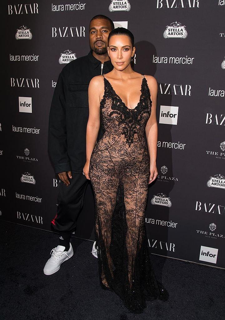 Kim Kardashian et Kanye West en septembre 2016. Photo : Getty Images