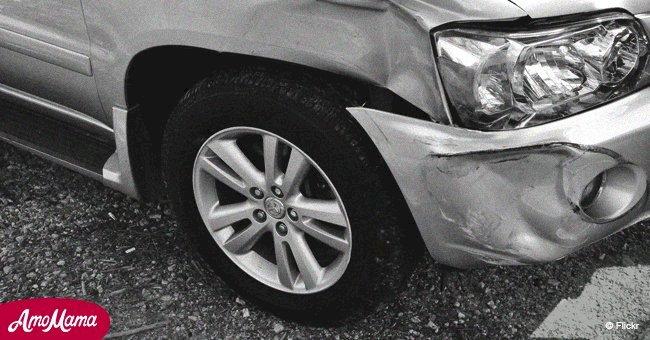 Mujer sobrevive milagrosamente seis días atrapada dentro de su automóvil tras horrible accidente