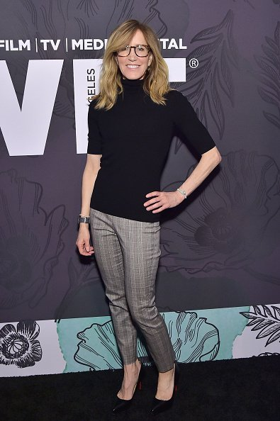 Huffman at the 12th Annual Women in Film Oscar Nominees Party on February 22, 2019 | Photo: Getty Images
