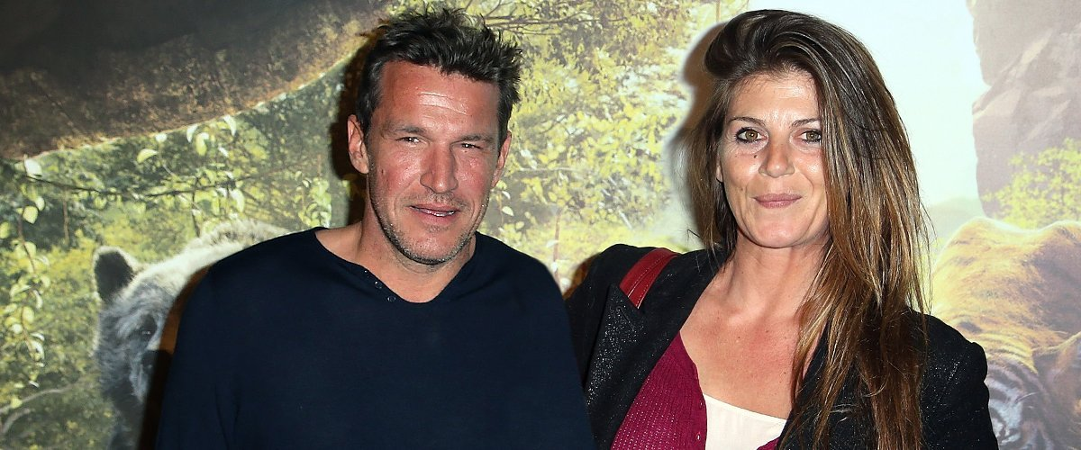 Benjamin Castaldi et  Aurore Aleman. | Photo : Getty Images