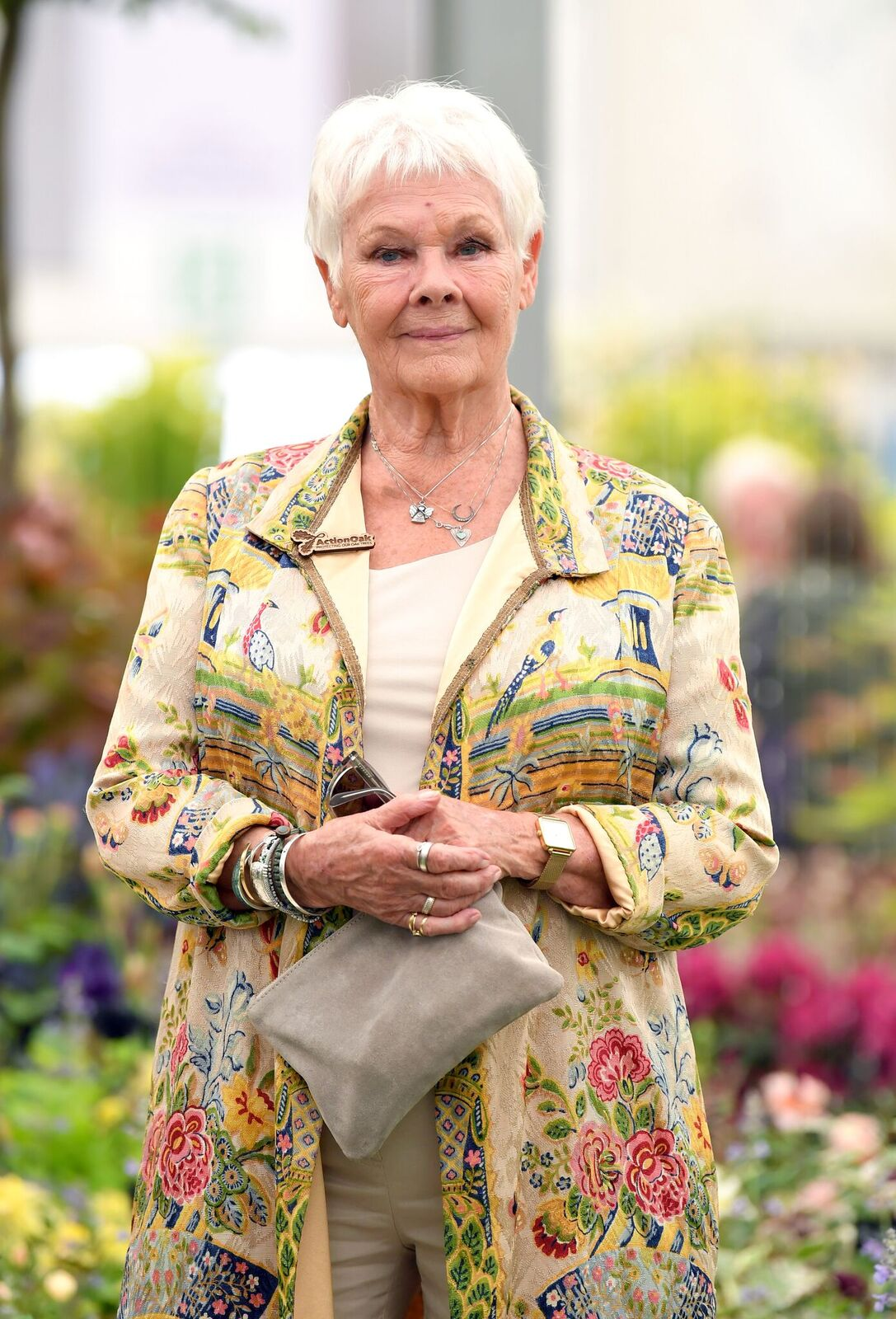 Dame Judy Dench attends the RHS Chelsea Flower Show on May 20, 2019. | Photo: Getty Images