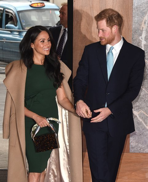 Le prince Harry, duc de Sussex et Meghan lors de la remise des prix WellChild le 15 octobre 2019 | Photo : Getty Images