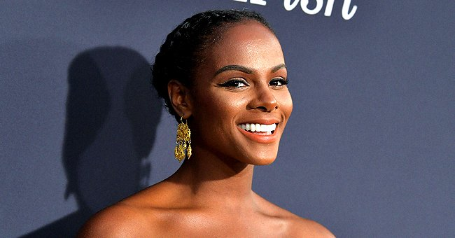 Tika Sumpter from 'Mixed-ish' Talks to Jimmy Kimmel about Mom Being a Prison Guard at Rikers Island