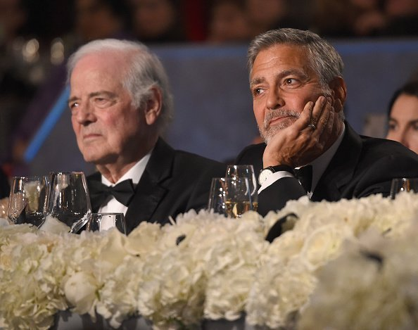 Nick Clooney and George Clooney at Dolby Theatre on June 7, 2018 in Hollywood, California. | Photo: Getty Images