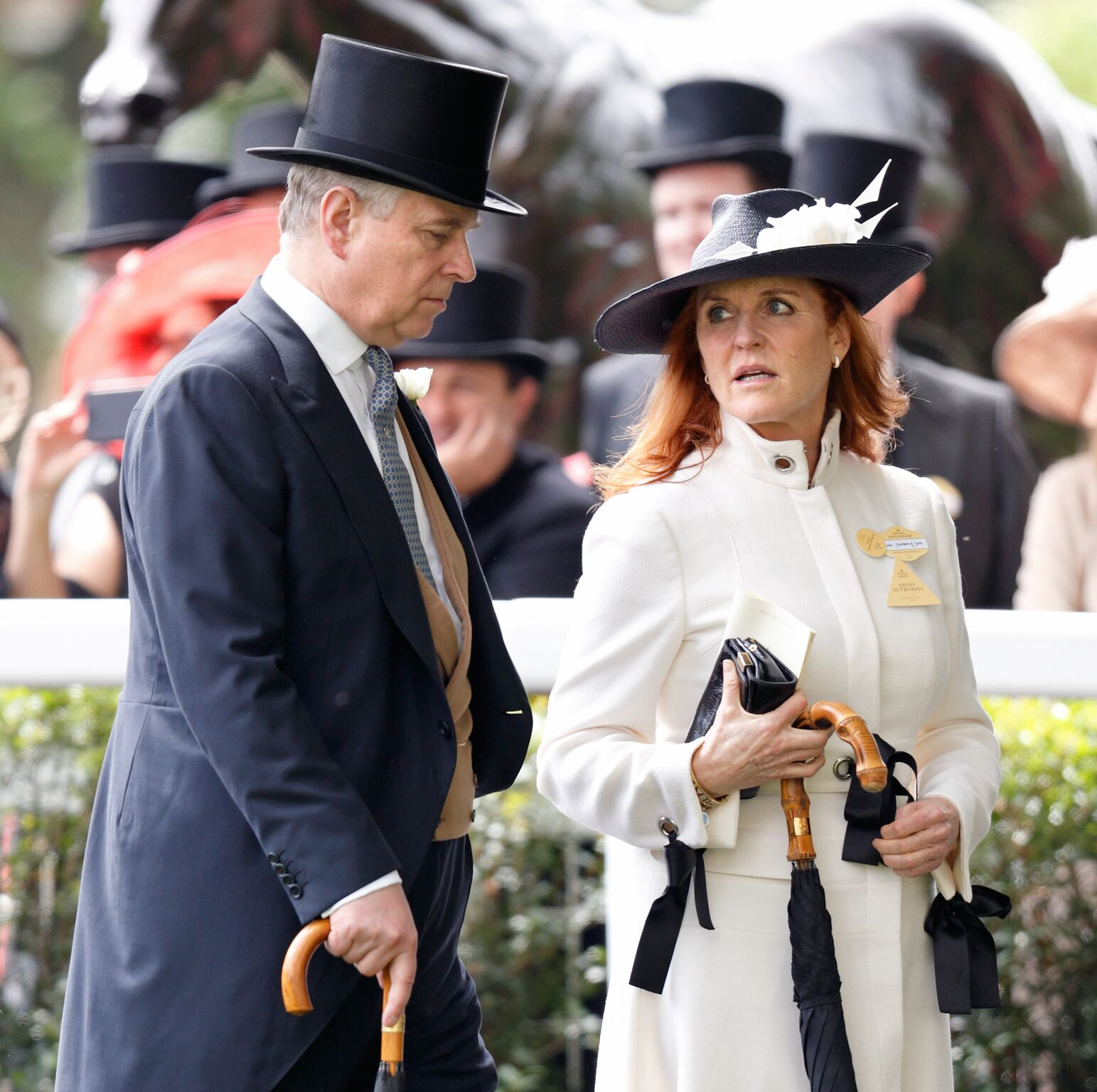 Prince Andrew and Sarah Ferguson attend day 4 of Royal Ascot | Getty Images