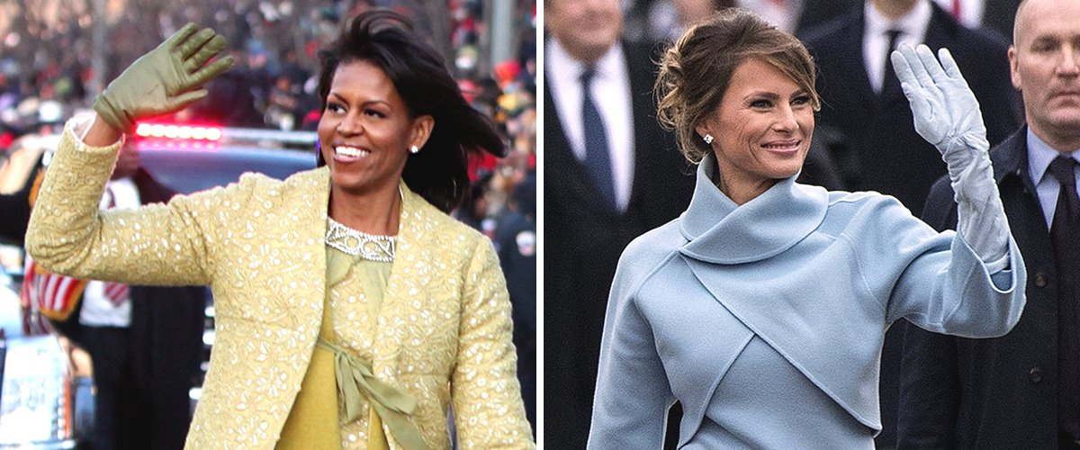 Key Differences between Melania Trump and Michelle Obama's Fashion Styles as FLOTUS