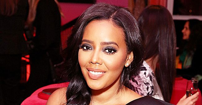 Rev Run's Daughter Angela Simmons Poses in Mini Dress & Boots in Recent Black & White Photos