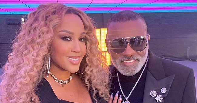 Fans Say 'The Isley Brothers' Ron Isley Looks Youthful At 80 Next to Younger Wife Who Is Wearing a Tight Mini Dress