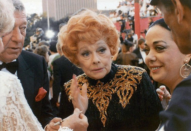 Lucille Ball at the 61st Academy Awards on March 29, 1989. | Source: Wikimedia Commons.