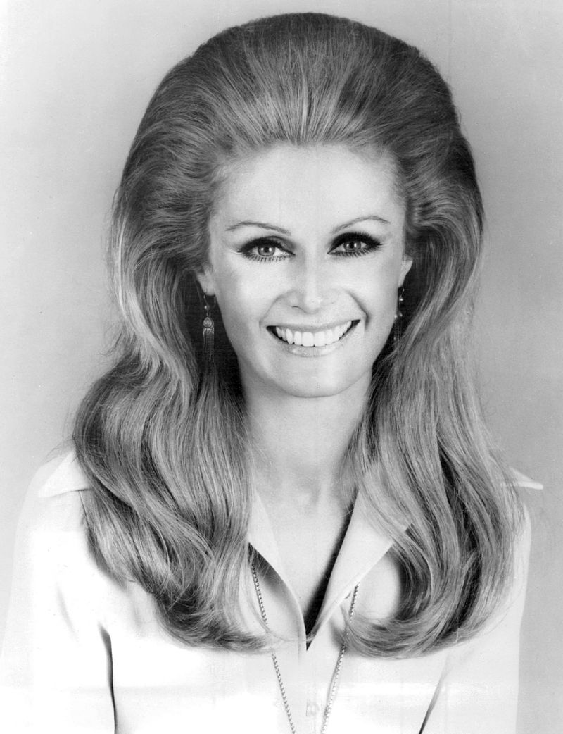 """Diana Hyland as Susan Winterin the television series """"Peyton Place"""" in 1968 