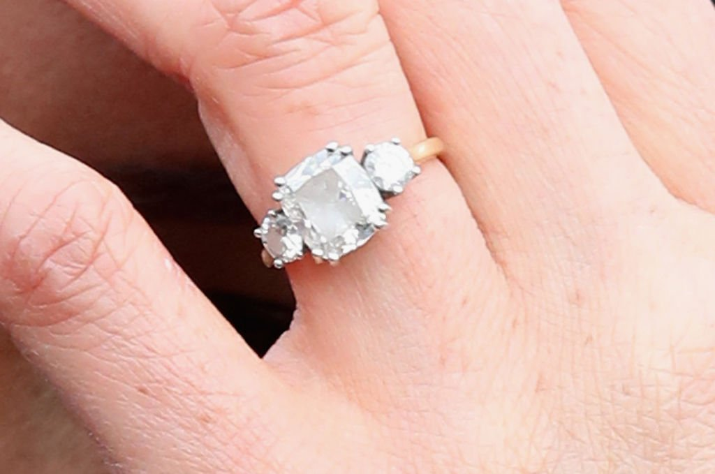 Meghan Markle's engagement ring | Getty Images