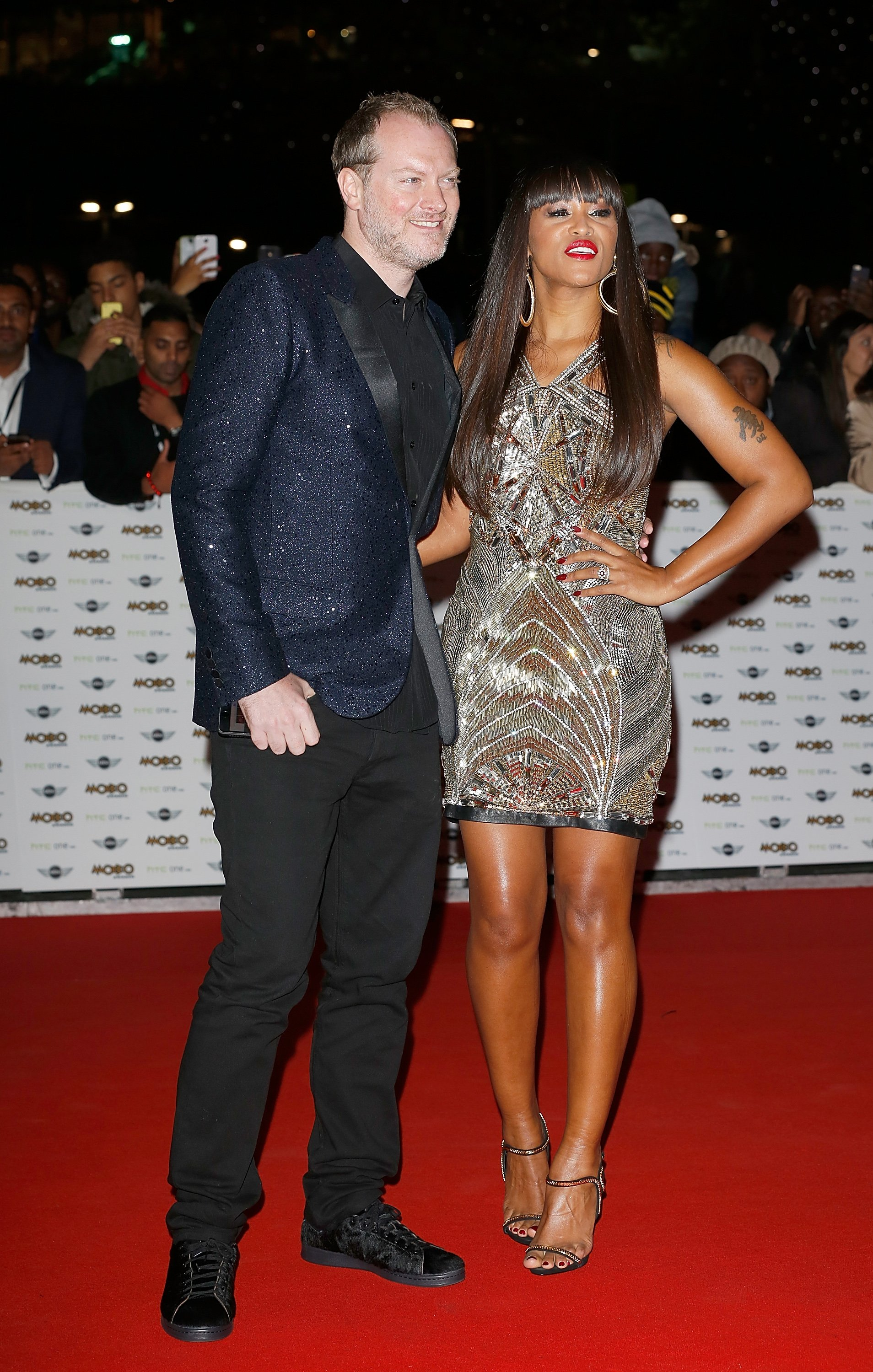 Maximillion Cooper & Eve at the MOBO Awards on Oct. 22, 2014. | Photo: Getty Images