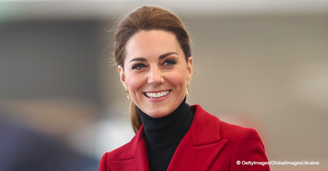 Kate Middleton Visits North Wales in a Stunning Previously Worn Red Blazer