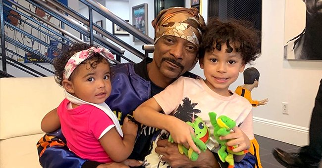 Snoop Dogg Poses with His Look-Alike Grandson and Granddaughter in a Heart-Melting New Photo