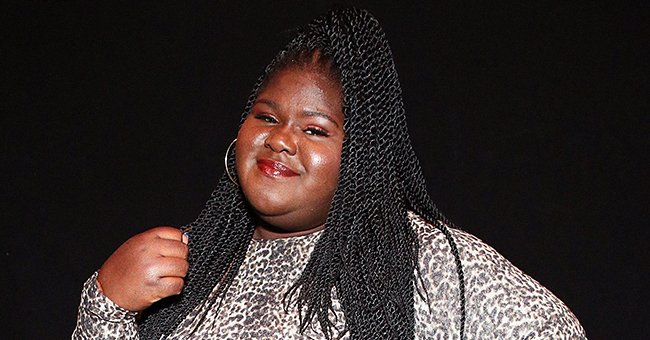 Gabby Sidibe Rocks Red Outfit and Headwrap in Photo and Fans Say She's Looking Great