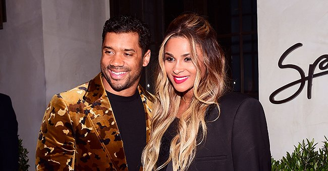Ciara's Husband Russell Wilson Bonds with Step-Son Future & Daughter Sienna during Quarantine