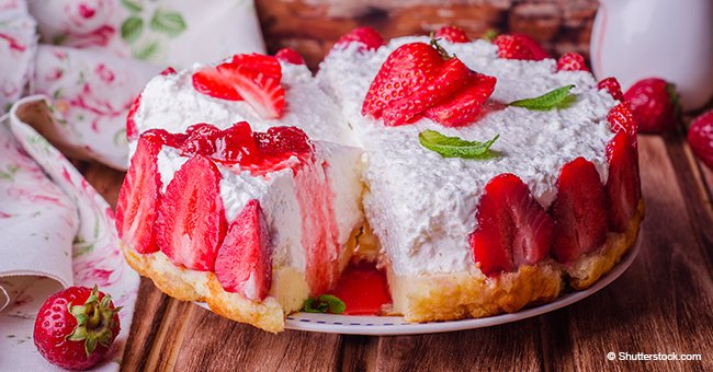 No-bake strawberry pie will allow you to recreate your childhood obsession with jell-o
