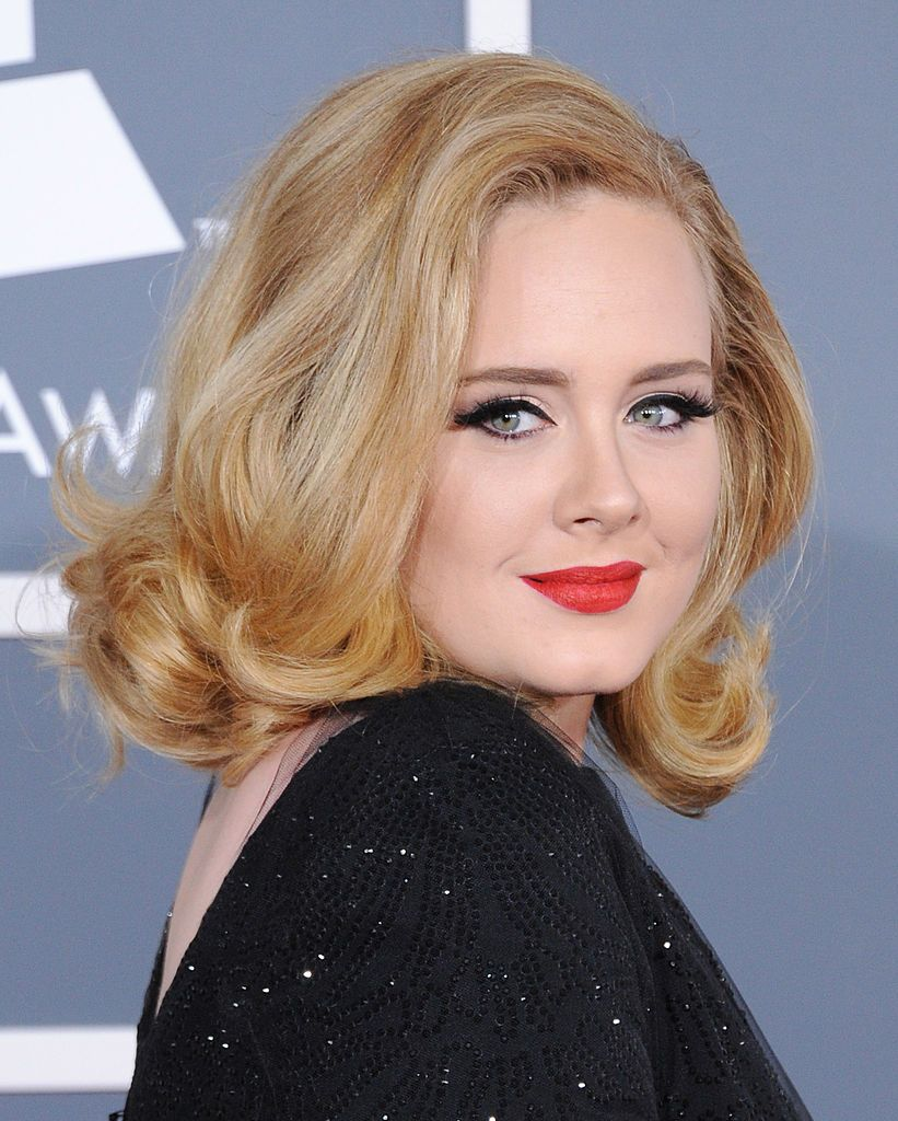 Adele at 54th Annual GRAMMY Awards on February 12, 2012 in Los Angeles, California | Photo: Getty Images