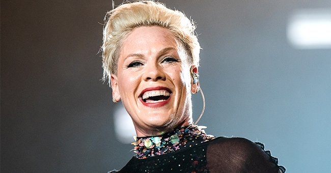 Pink Gets Her 4-Year-Old Son Jameson to Repeat a Song after Her in a Funny TikTok Video