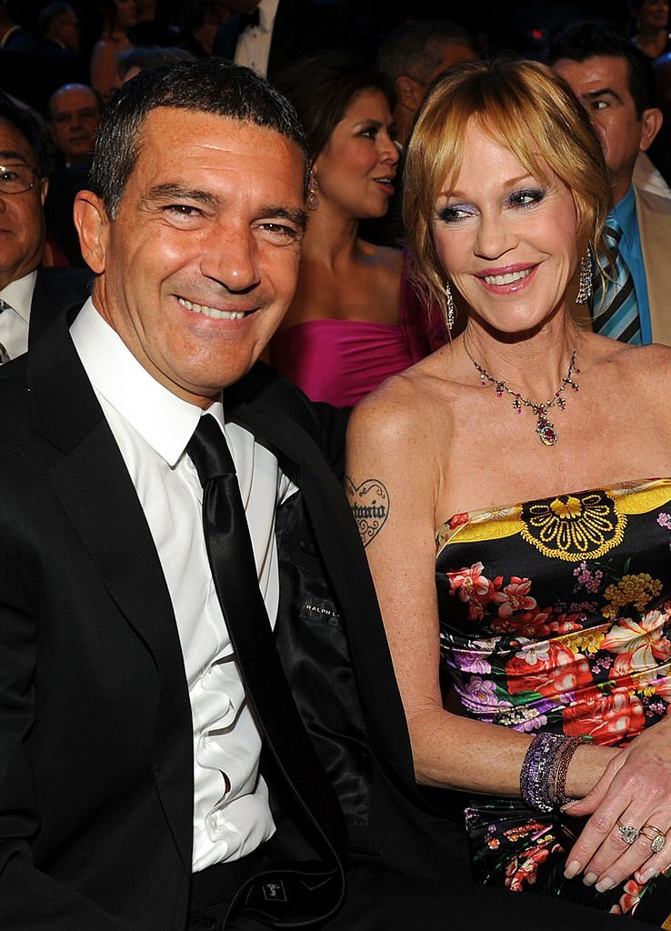 Antonio Banderas and Melanie Griffith l Picture: Getty Images