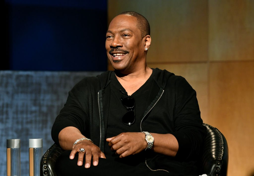 Eddie Murphy speaks during the LA Tastemaker event for Comedians in Cars at The Paley Center for Media on July 17, 2019 | Photo: Getty Images
