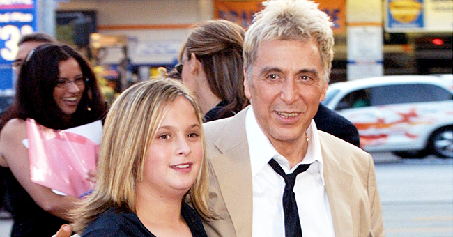 La fille aînée d'Al Pacino, Julie, a grandi et est passionnée par la réalisation