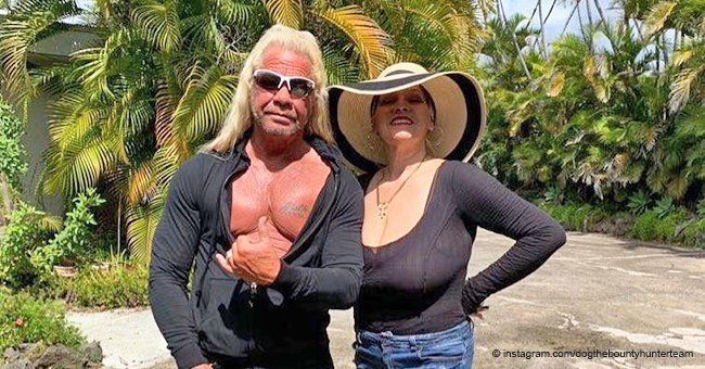Duane and Beth Chapman shared a sweet photo from their 'paradise' home