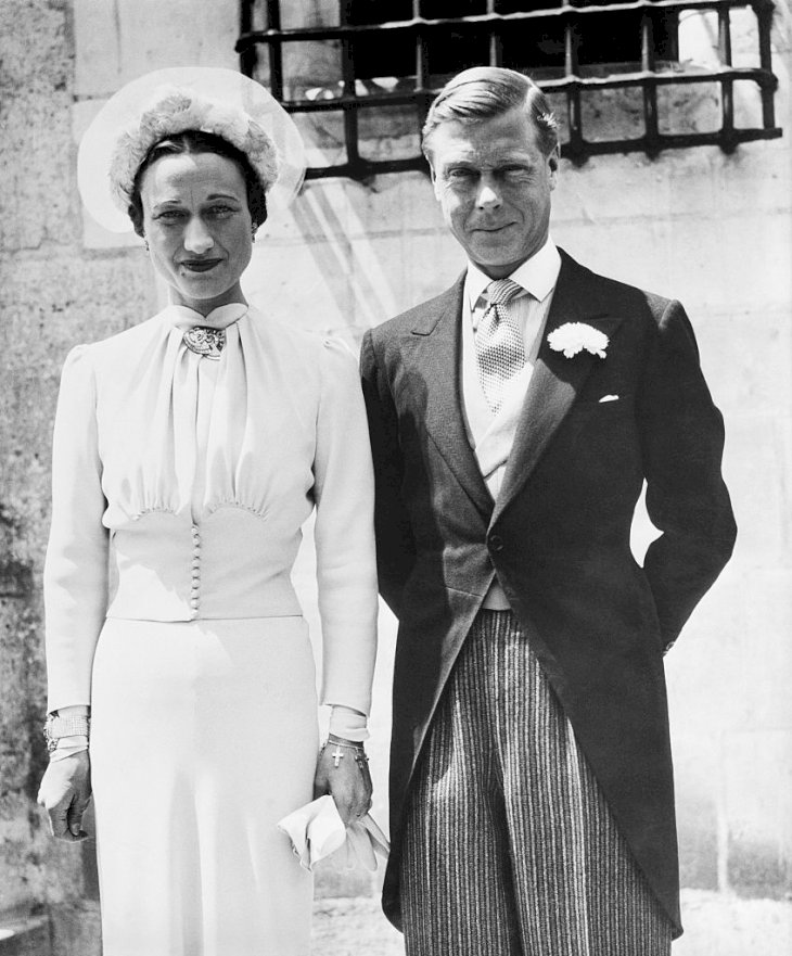 (Original Caption) This was the first portrait of the Duke and Duchess of Windsor after their marriage at the Chateau De Cande, in Monts, France, in June 1937. The wedding took place about six months after Edward gave up the throne of England to marry Mrs. Wallis Simpson.