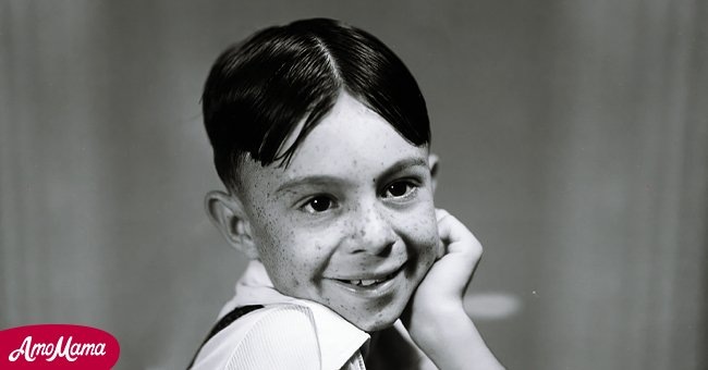 """Portrait of Carl Switzer as Alfalfa for """"The Little Rascals"""" series, originally know as """"Our Gang"""" dated January 1, 1936   Photo: Getty Images"""