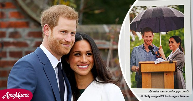 There was another official Christmas card from Meghan and Harry that we almost missed